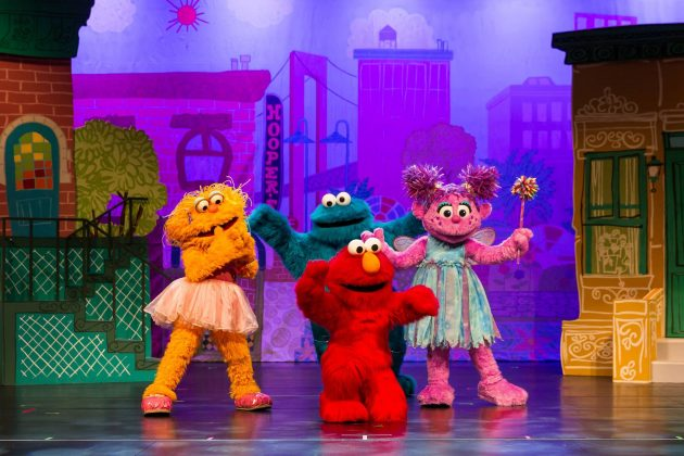 sesame street elmos super fun hero show