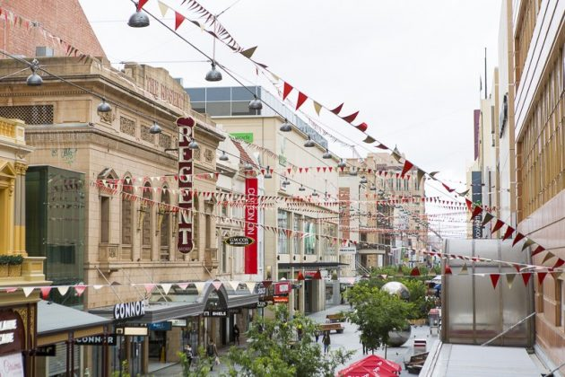 Christmas in Rundle Mall