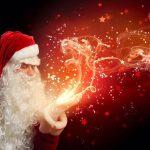 santa's magical village father christmas