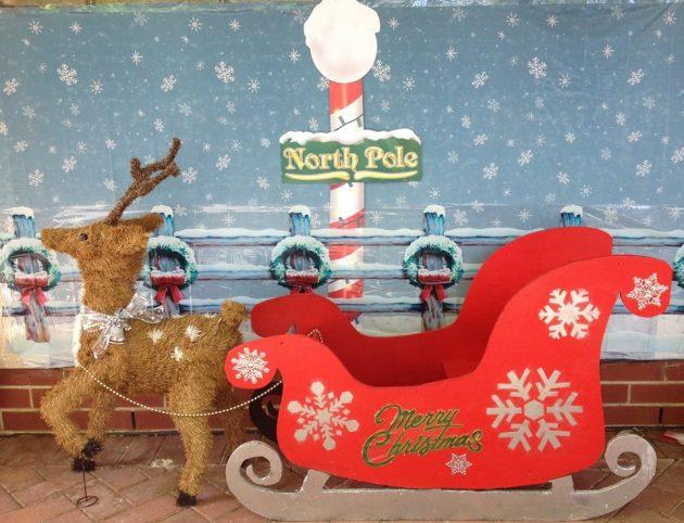 Skylark Close Christmas Lights Reindeer