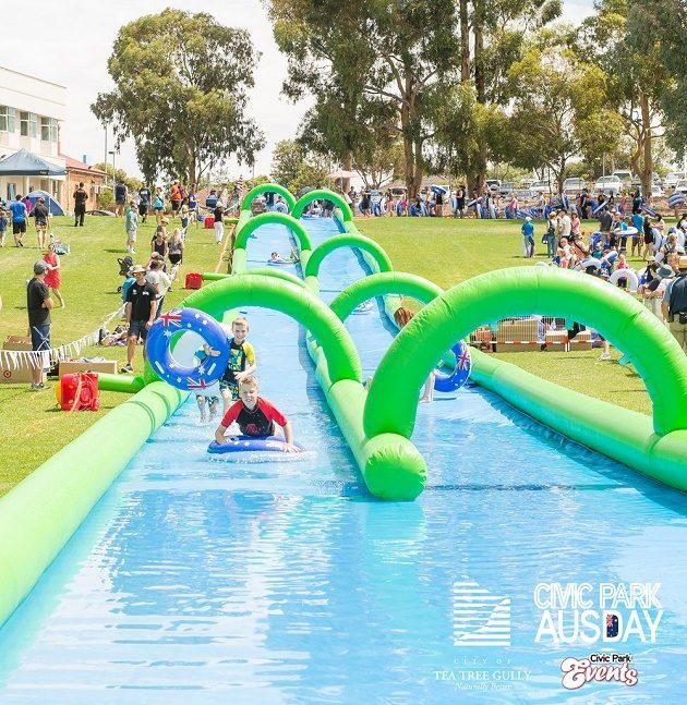 civic park australia day 2017