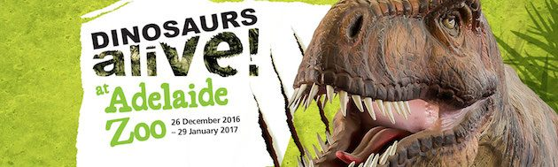 dinosaurs alive adelaide zoo