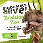 Dinosaurs Alive at Adelaide Zoo