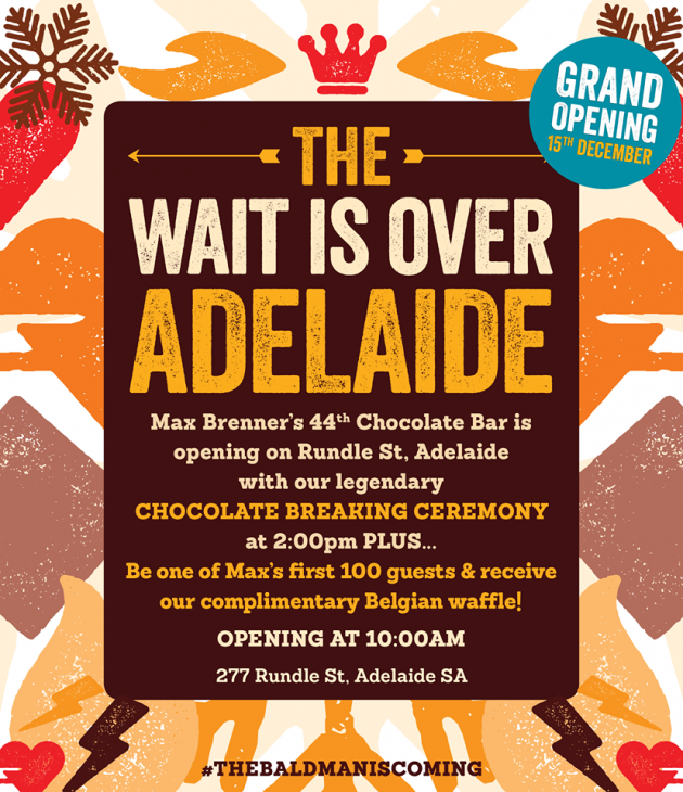 max brenner chocolate opening