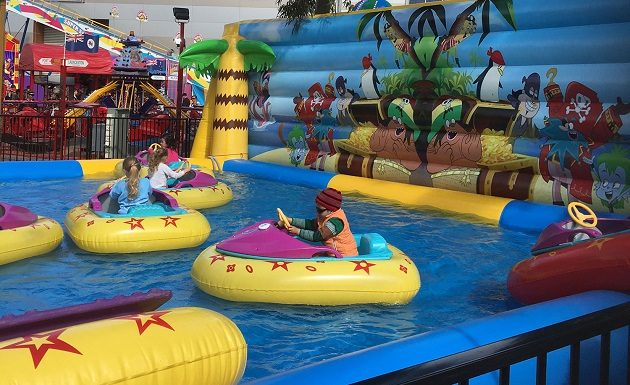 bumper boats waterpark