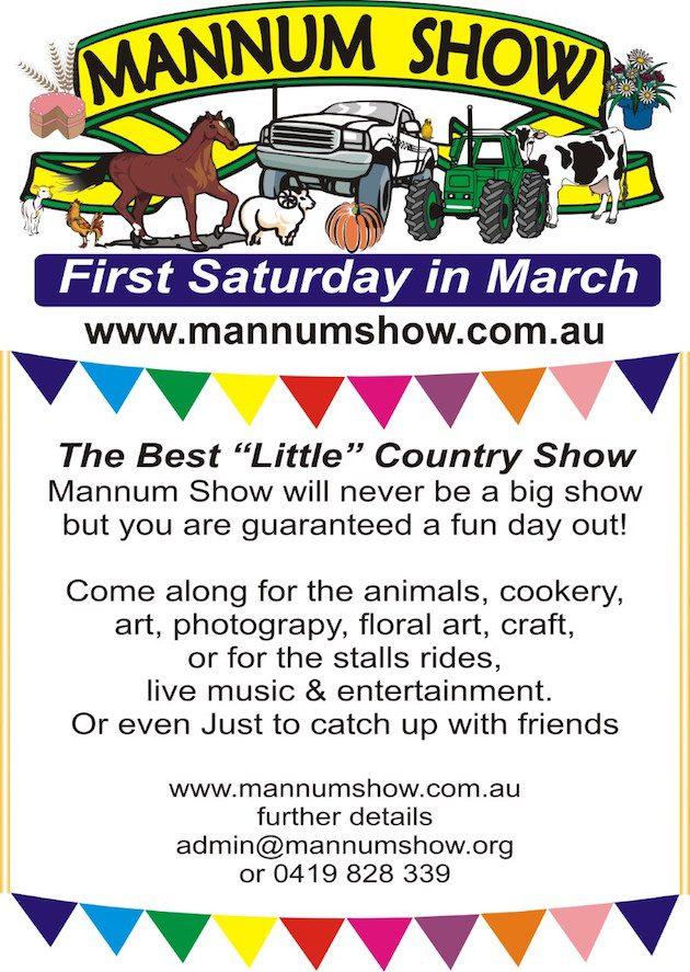 mannum show
