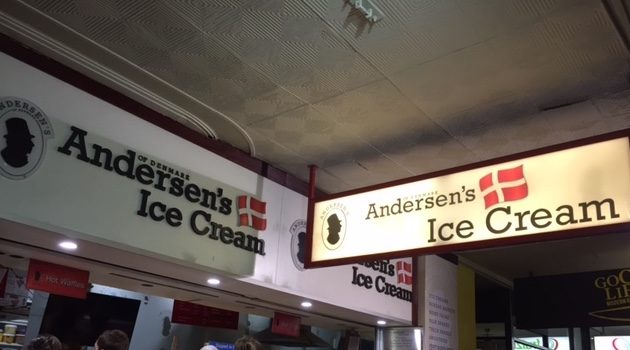 Ice Cream Places in Adelaide: Andersens ice cream