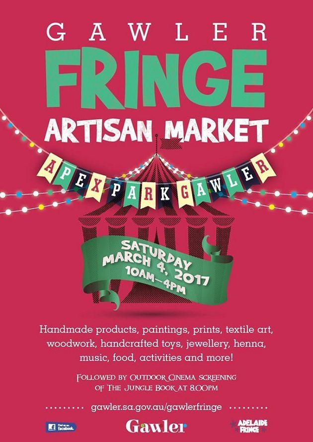 gawler fringe artisan market
