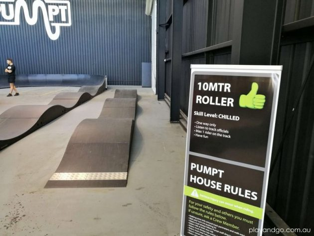 Pumpt Adelaide BMX Indoor Bike Track