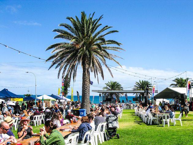 beachside food and wine fest