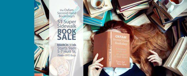 oxfam book sale
