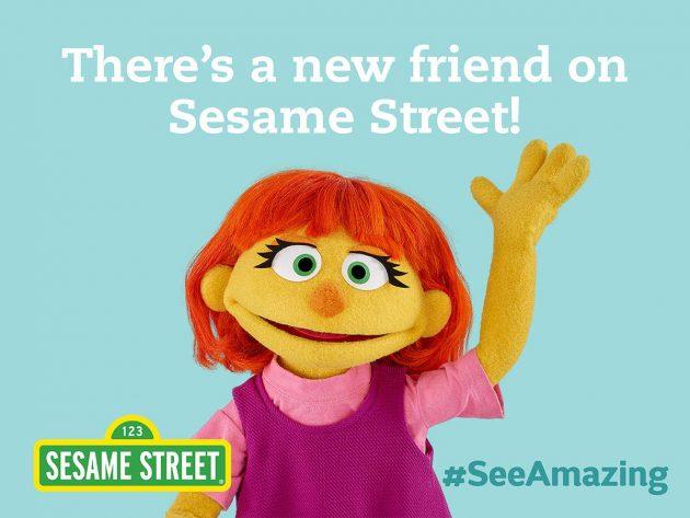 see amazing julia on sesame street