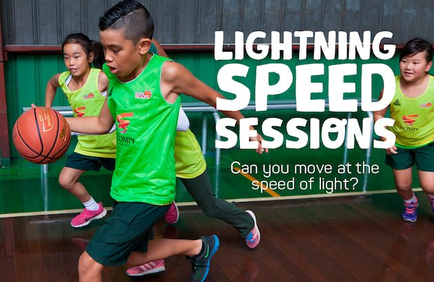 Aussie Hoops Lightning Speed Sessions - basketball training at Colonnades Shopping Centre | 24-28 Apr 2017