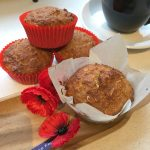 anzac apple cinnamon muffins recipe