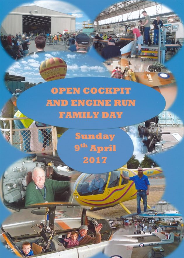 Open Cockpits and Engine Run Family Fun Day