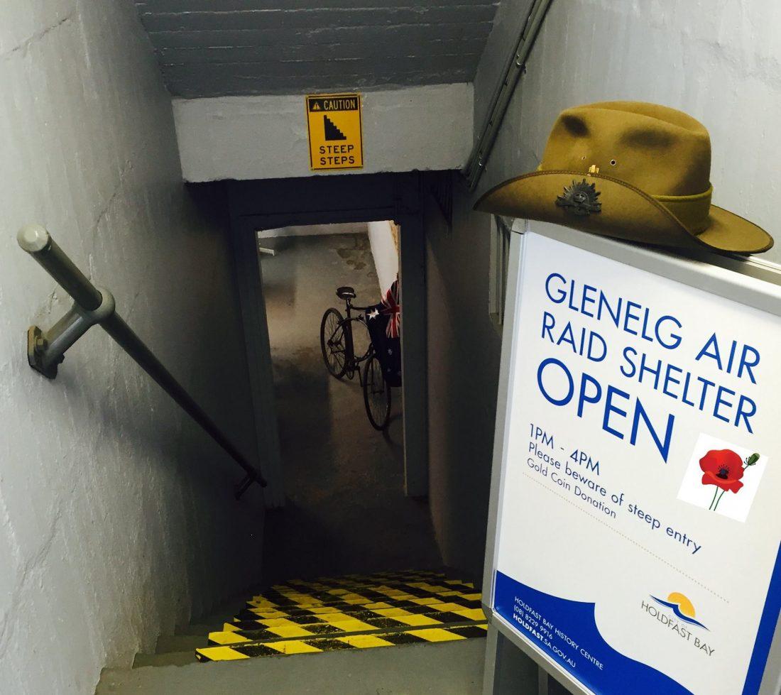 Glenelg Air Raid Shelter  5f897d5afdd0
