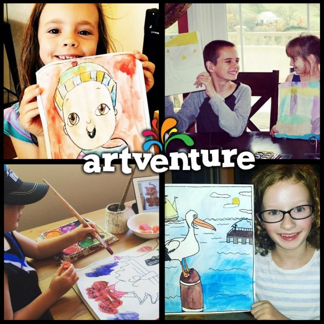 ArtVenture Kids Art Classes Online