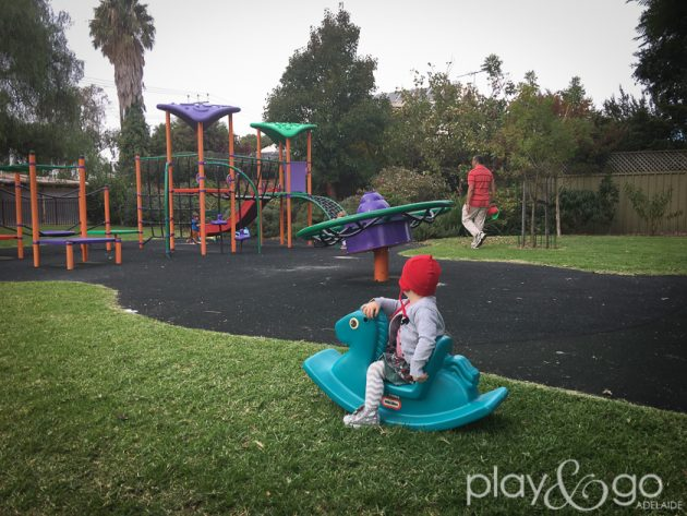 Ramage Street Park (aka Morrie Harrell Playground) Review by Susannah Marks