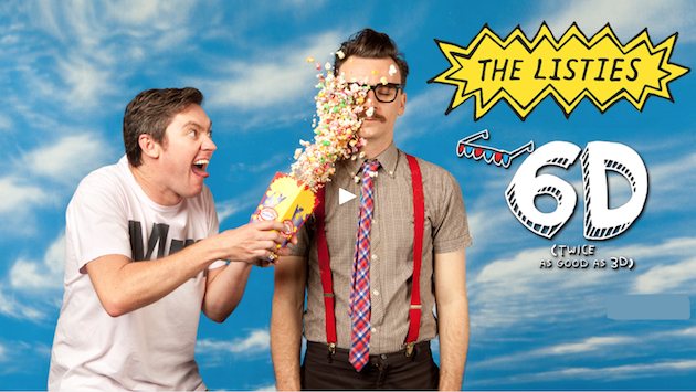 The Listies 6D - image from The Listies website