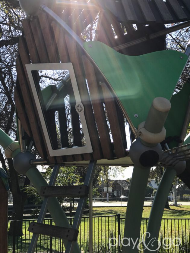 Enchanted Garden Prospect Memorial Gardens Playground Review