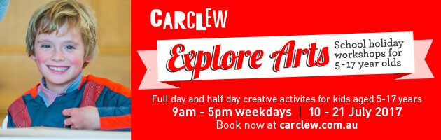 Carclew Explore Arts Winter School Holidays in Adelaide