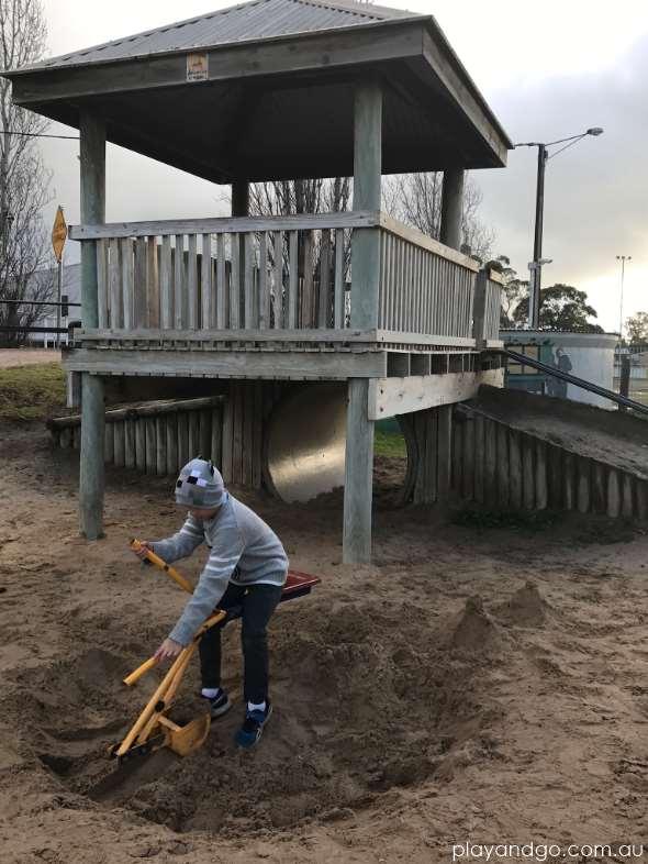 Keith playground sand digger