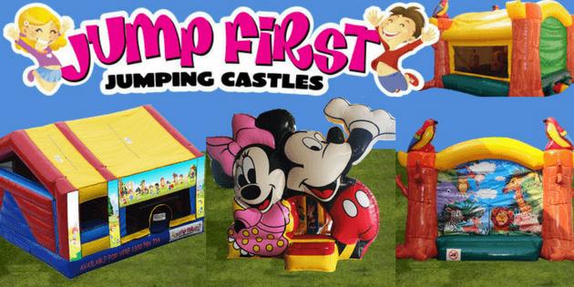 Jump first jumping castles