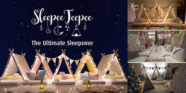 Sleepee Teepee Kids Parties Adelaide