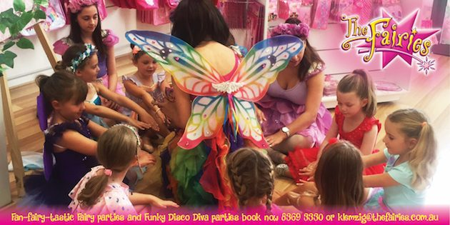 Kids Birthday Parties in Adelaide The Fairies Adelaide Birthday Parties