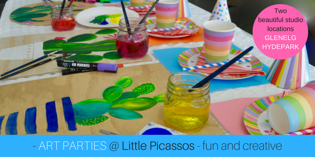 Kids' Parties Adelaide - Little Picassos