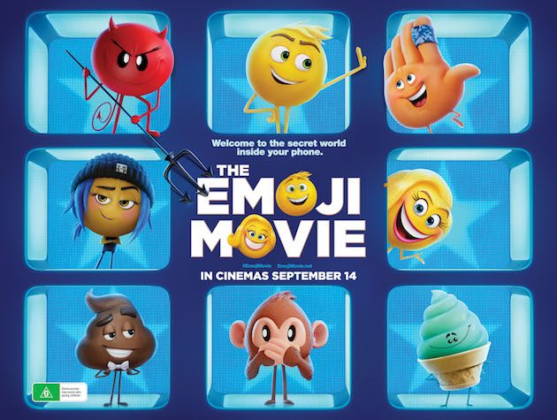 Ended Win The Emoji Movie Tickets Prize Pack In Cinemas 14 Sep 2017 What S On For Adelaide Families Kidswhat S On For Adelaide Families Kids