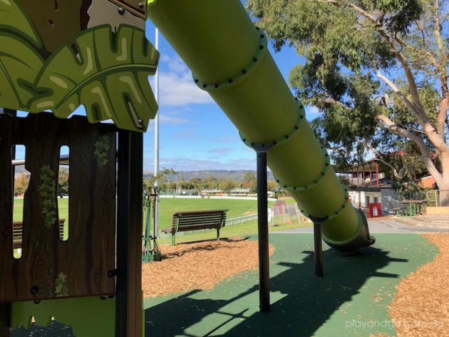 Unley Oval Hilltop Playground - review by Susannah Marks