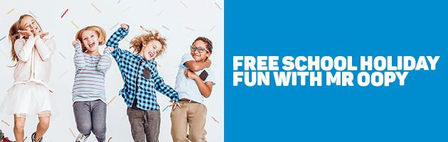 Castle Plaza Free School Holiday Fun