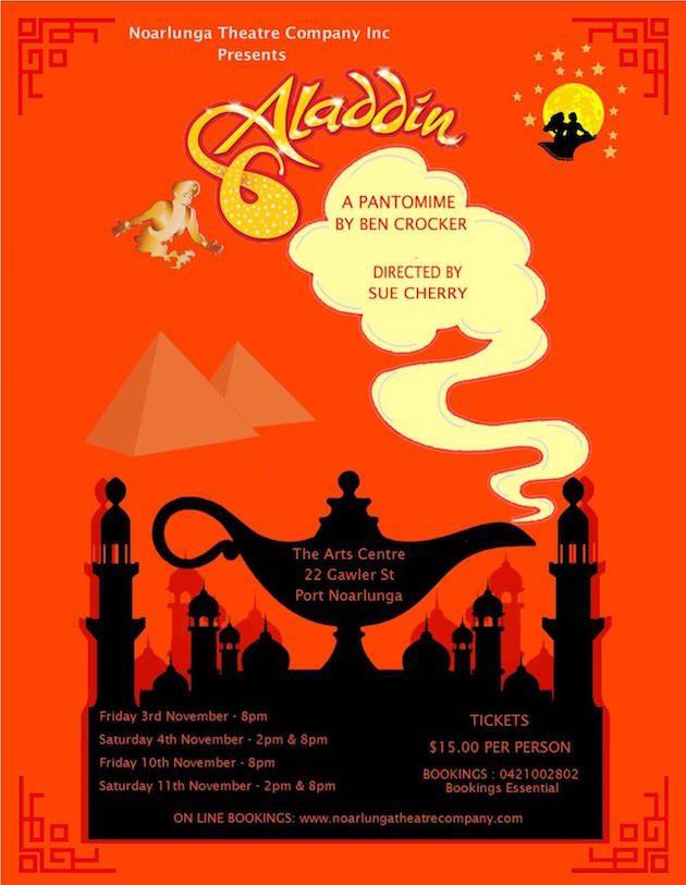 Aladdin Pantomime Show