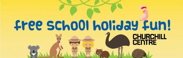 Free School Holiday Fun at Churchill Centre