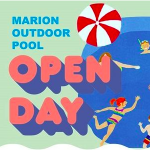 Marion Outdoor Pool Open Day