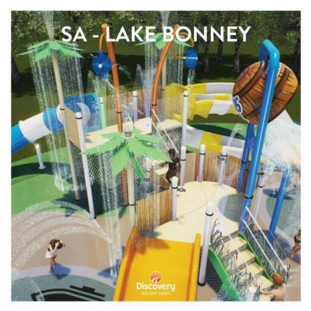 discovery park lake bonney waterpark water fun