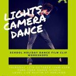 lights camera dance