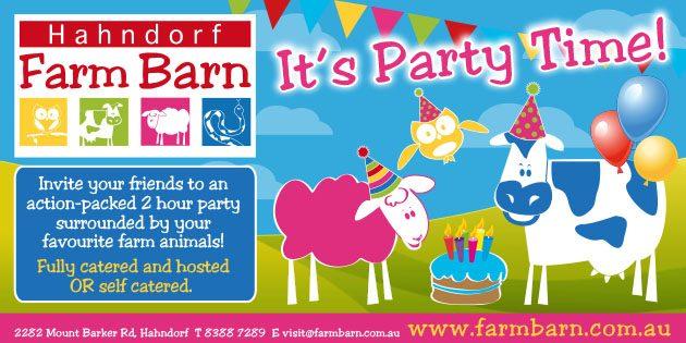 Hahndorf Farm Barn Parties Adelaide