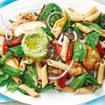 aussie farmers-chicken-and-avocado-pesto-pasta