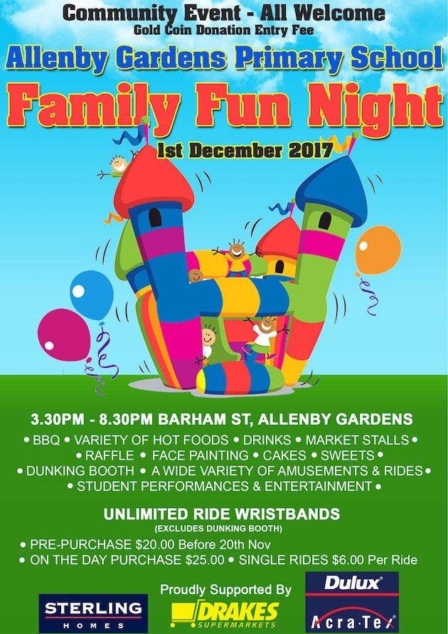 Allenby Gardens Primary School Family Fun Night