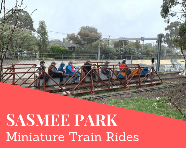 SASMEE Park Adelaide miniature train rides