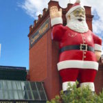 giant father christmas