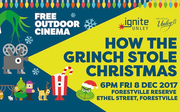 How The Grinch Stole Christmas | Ignite Unley Outdoor Cinema