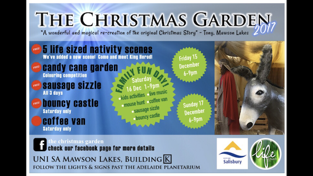 The Christmas Garden | UniSA Mawson Lakes Campus