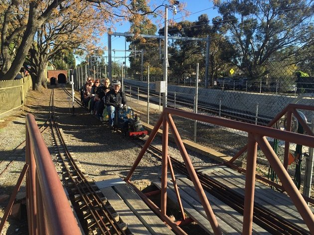 sasmee park miniature train rides