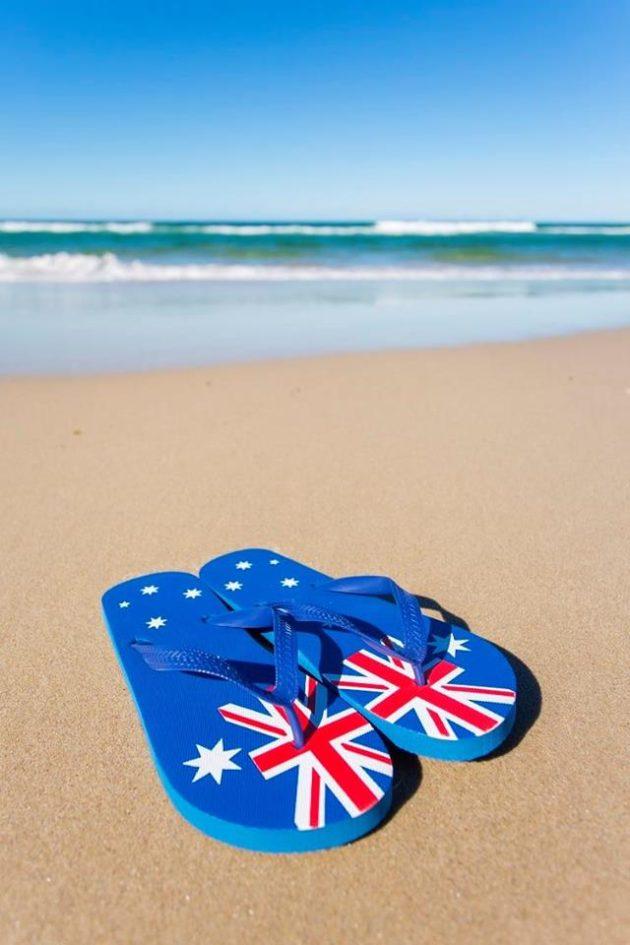 australia day at glenelg