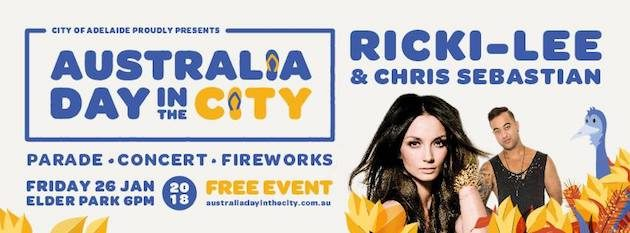australia day in the city