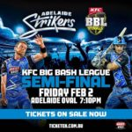 big bash league semi final adelaide strikers