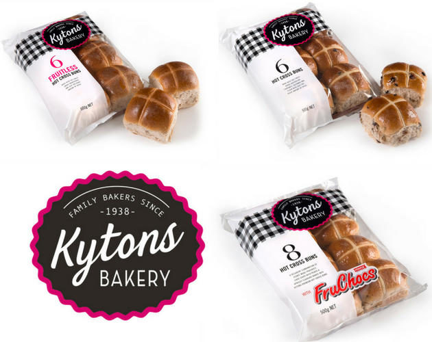 Kytons Bakery hot cross buns